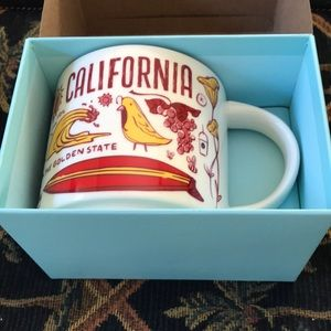 Starbucks Been There Series California cup NWT